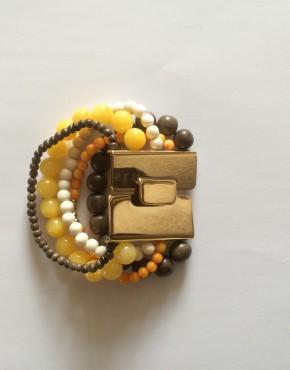 offrande-bijoux-bracelet-5-rangs-grande-boucle-or